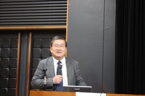 基調講演 下斗米法政大学教授
