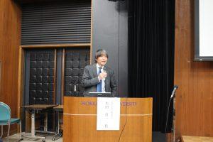 基調講演 本田良一北海道新聞編集局編集委員